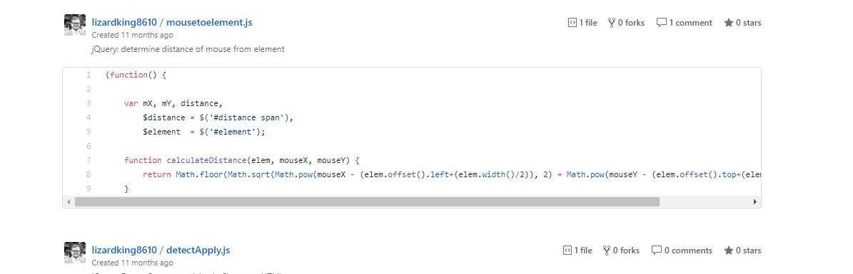 Useful Code Snippets
